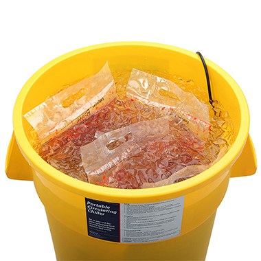 Flavorseal portable bagged food circulating chiller