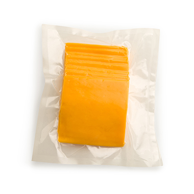 Flavorseal vacuum pouches for cheese sales