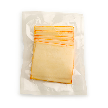 Flavorseal vacuum pouches for muenster cheese sales