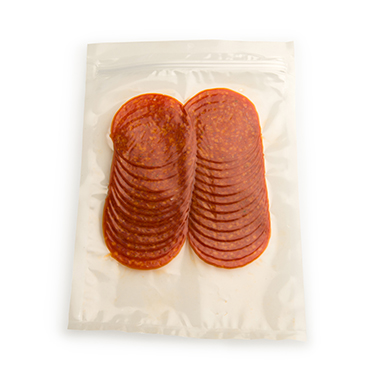 Flavorseal vacuum pouches for pepperoni sales
