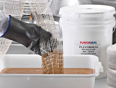 Flavorseal Non-Soy Lecithin Food Netting Release Agents used on netting products